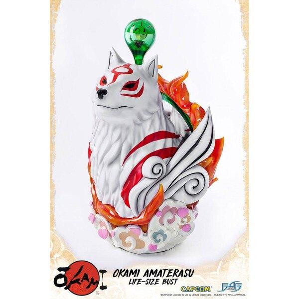 Okami buste 1/1 Amaterasu 67 cm