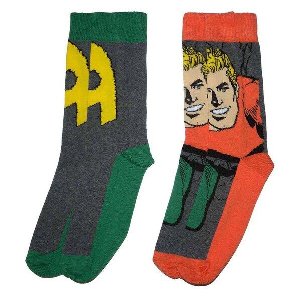 DC Comics pack 2 paires de chaussettes homme Aquaman