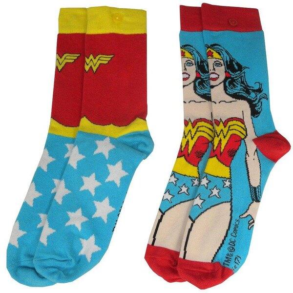 DC Comics pack 2 paires de chaussettes femme Wonder Woman
