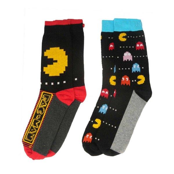 Pac-Man pack 2 paires de chaussettes homme