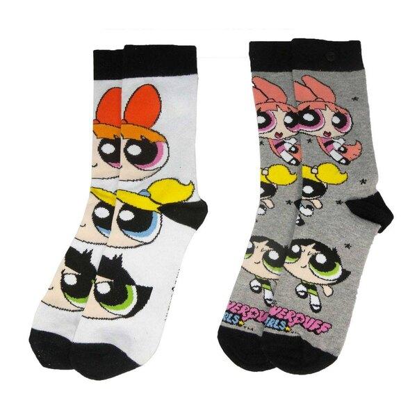 Les Supers Nanas pack 2 paires de chaussettes femme
