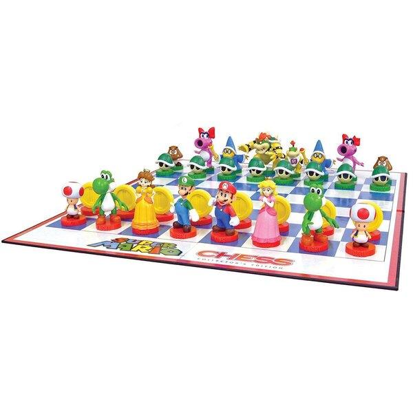 Super Mario jeu d´échecs Tin Box