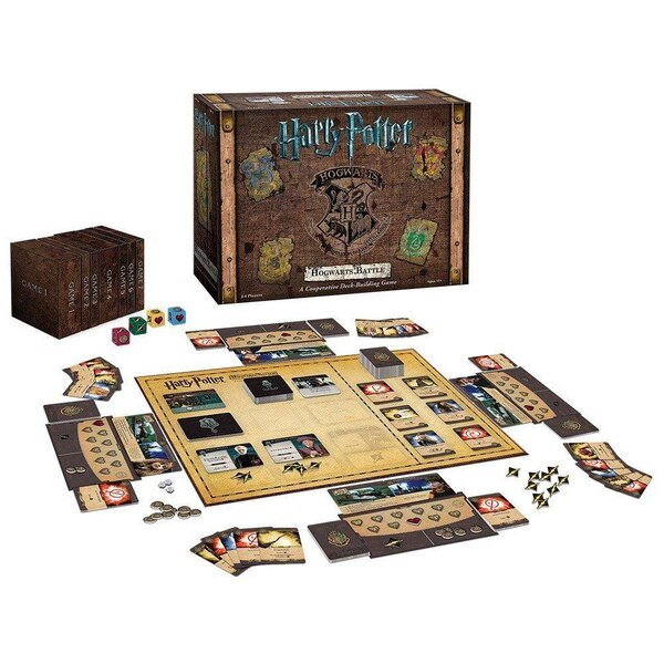 Harry Potter jeu Deck-Building Hogwarts Battle *ANGLAIS*