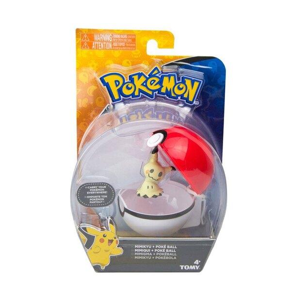 Pokemon assortiment Clip´n´Carry Poké Ball Wave D10 (6)