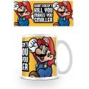 Super Mario mug Makes You Smaller