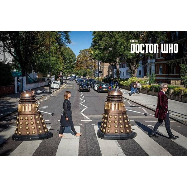 Doctor Who pack posters Abbey Road 61 x 91 cm (5)