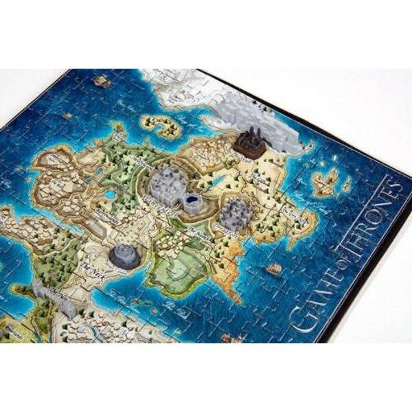 Puzzle 3d Le Trône de fer puzzle 3D Mini Westeros (340 pièces)