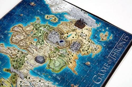 Puzzle 3d - Puzzle 3d Le Trône de fer puzzle 3D Mini Westeros (340 piè