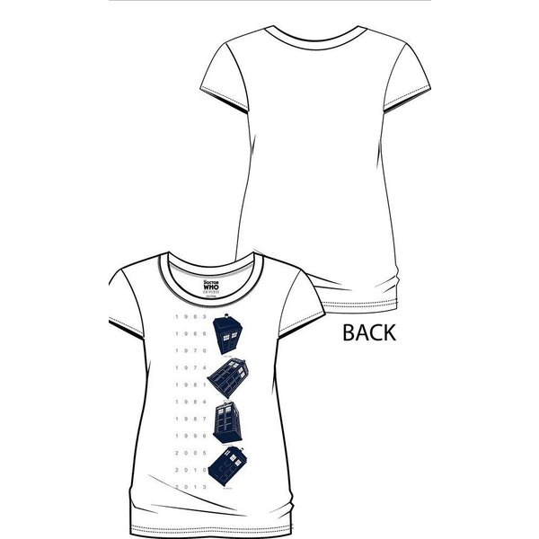 Doctor Who T-Shirt femme Twisting Tardis