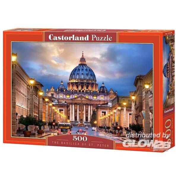 Puzzle Basilique de St.Peter, Puzzle 500 partie