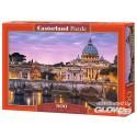 Puzzle Vue du Vatican, casse 500 pièces Castorland B-52493