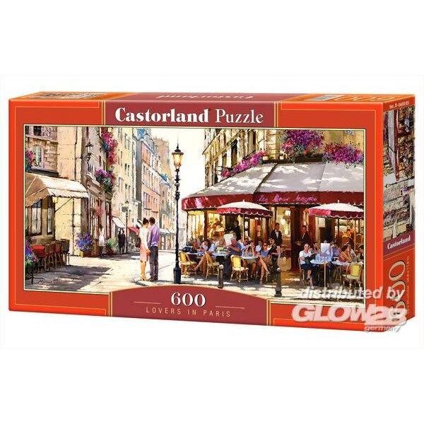 Puzzle Lovers à Paris, puzzle 600 pièces
