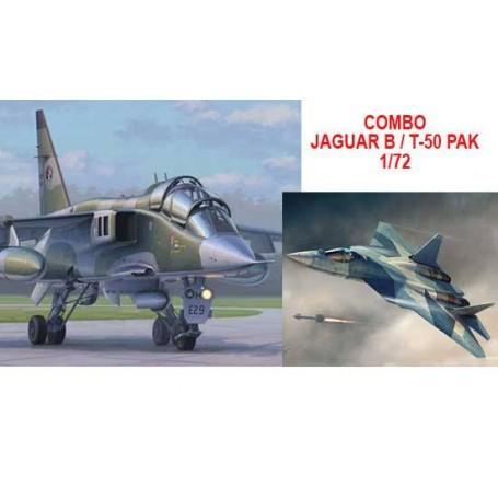 Combo Jaguar/T-50 PAK 1/72