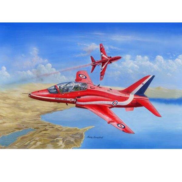 Red Arrows Hawk 1/48