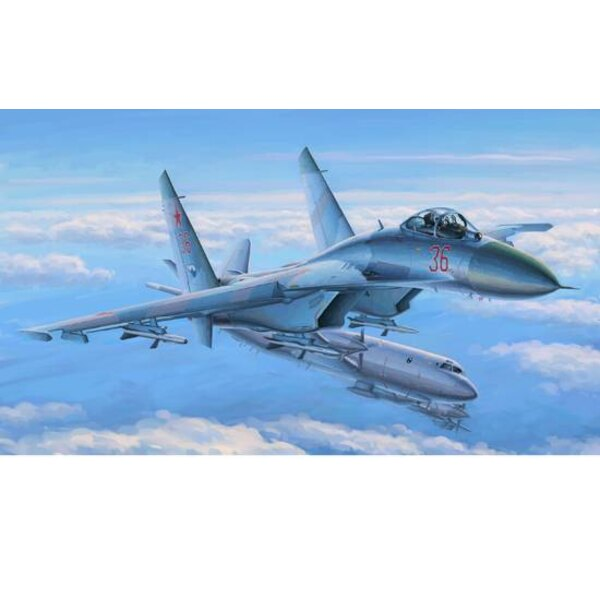 SU-27 Flanker Early 1/48