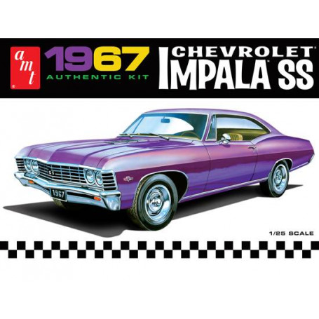 1967 Chevy Impala SS 1/25