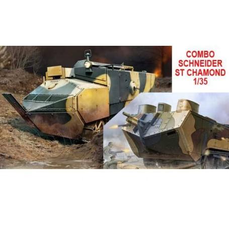 Combo ST Chamond/Schneider 1/35