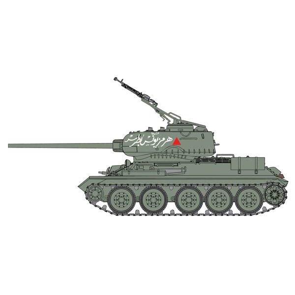 T-34/85 Armée Syrienne