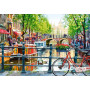 Paysage d'Amsterdam, puzzle 1000 parties