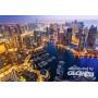 Dubaï à la nuit, puzzle 1000 parties