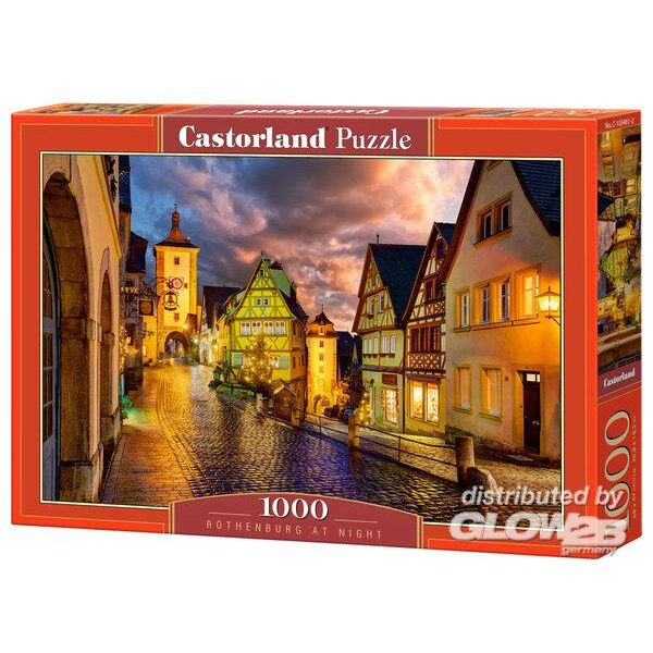 Puzzle Rothenburg at Night, Puzzle 1000 parties