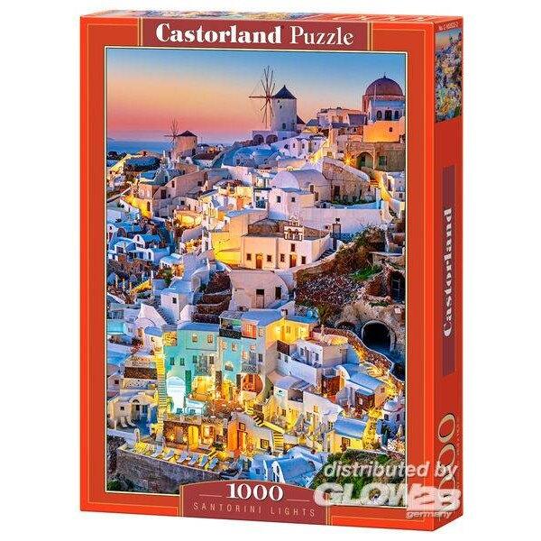 Puzzle Santorini Lights, Puzzle 1000 parties