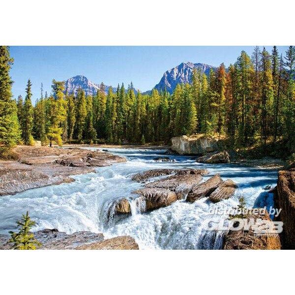 Puzzle Athabasca River, Jasper Nat.Park, Ca, Puzzl