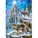 Wolves and Castle, Puzzle 1500 parties