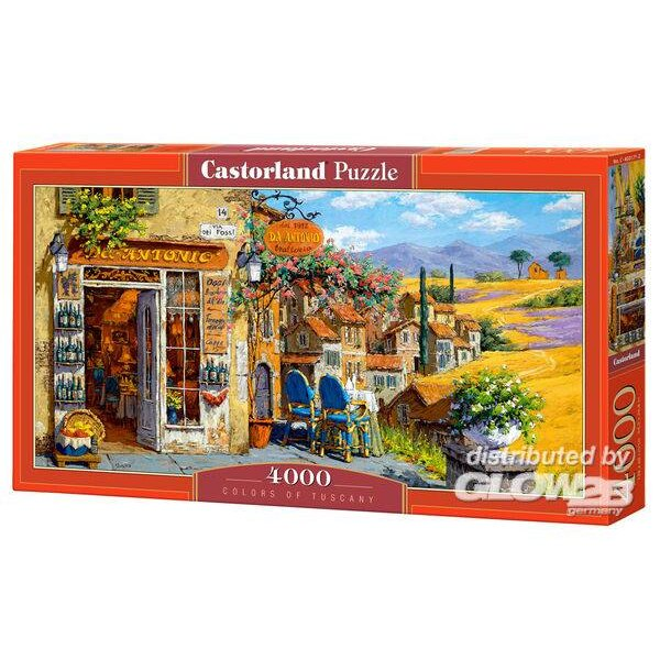 Puzzle Couleurs de Toscane, Puzzle 4000 pièces