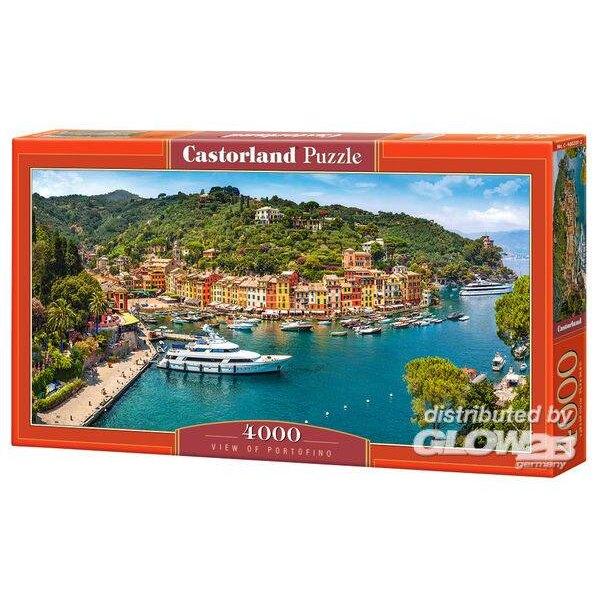 Puzzle Vue de Portofino, puzzle 4000 pièces