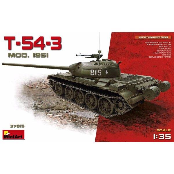 Modèle soviétique T-54-3 1951