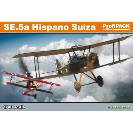 Royal_Aircraft_Factory SE5a avec Hispano Suiza ProfiPACK édition de British WW1 combattant SE.5a en échelle 1/48.