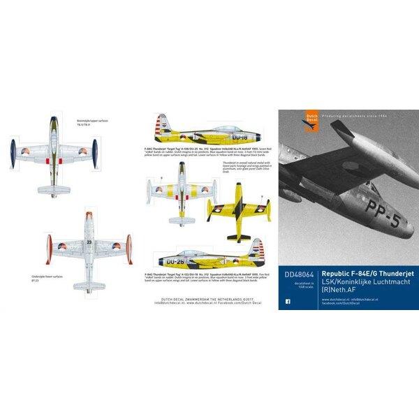 République F-84E / F-84G Thunderjet KLu