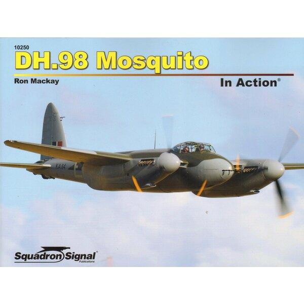 Livre De Havilland DH.98 MOSQUITO IN ACTION (Couverture souple)