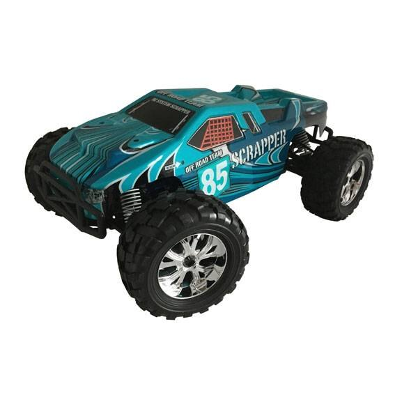 VOITURE SCRAPPER BLEUE 1 / 10 4x4 BRUSHED RTR