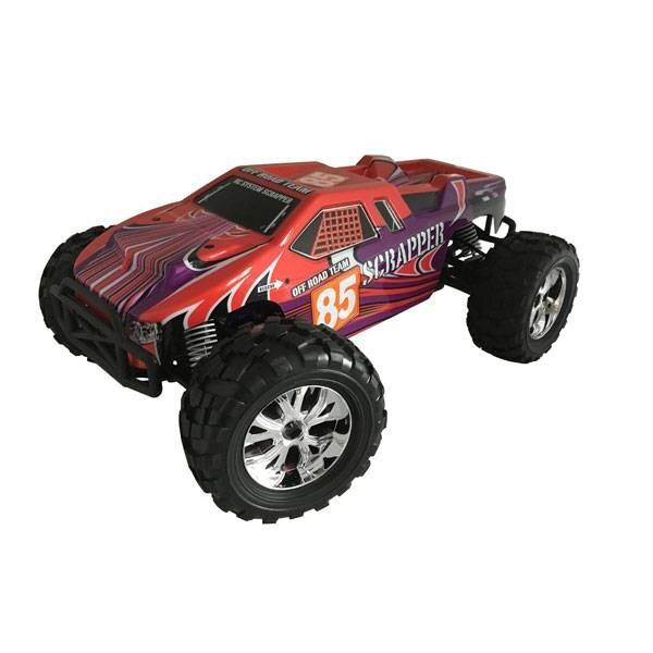 VOITURE SCRAPPER ROUGE 1 / 10 4x4 BRUSHED RTR