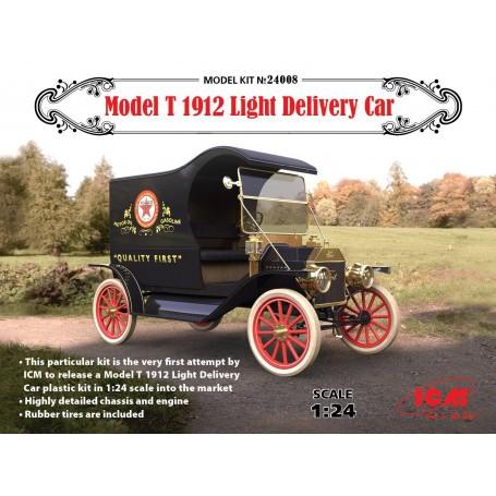 Modèle T 1912 Light Livraison voiture Ce kit particulier est la toute première tentative par ICM pour libérer un kit en plastiqu