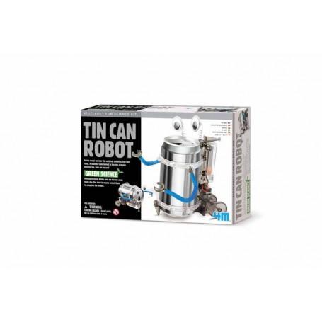 Robot en fer-blanc