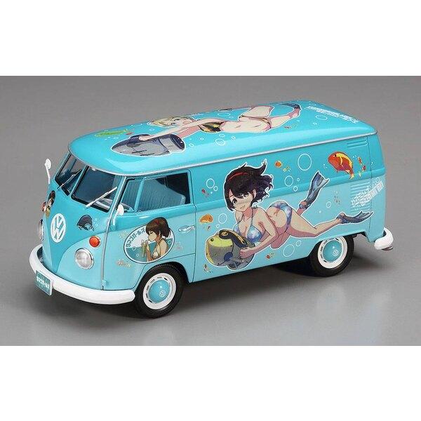 Volkswagen TYPE 2 Livraison Van Egg Girls Summer Paint 2017