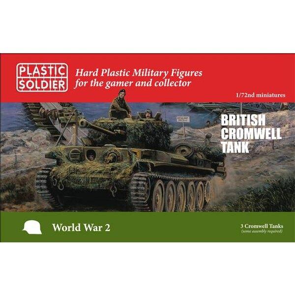 British Cromwell Tank 3 Réservoirs britanniques Cromwell.Chaque sprue a des options pour construire une variante Close Support