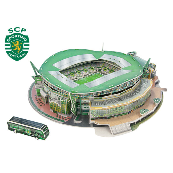 José Alvalade Stadium 3D Puzzle - SPORTING LISBOA