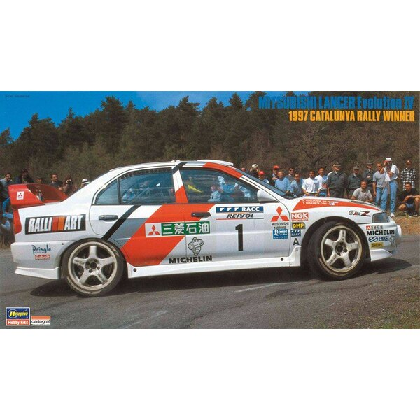 Mitsubishi Lancer Evolution IV 1997 Rallye de Catalunya