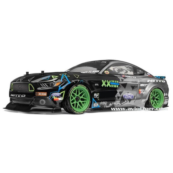 RS4 SPORT 3 DRIFT RTR FORD MUSTANG MONSTER ENERGY VGJR