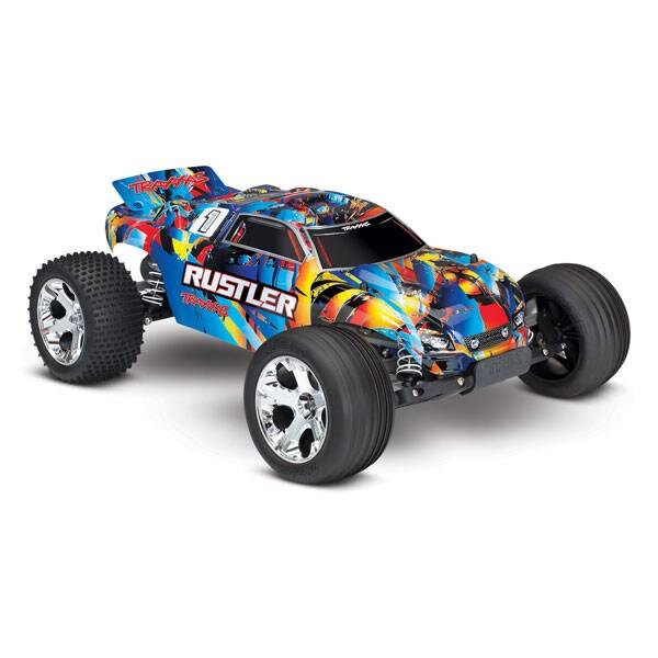 RUSTLER Rock n&039; Roll - 4x2 - 1/10 BRUSHED TQ 2.4GHZ - SANS AQ/CHG