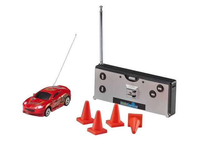 Mini voiture rc - Mini RC Car-Voiture de sport rou--Revell