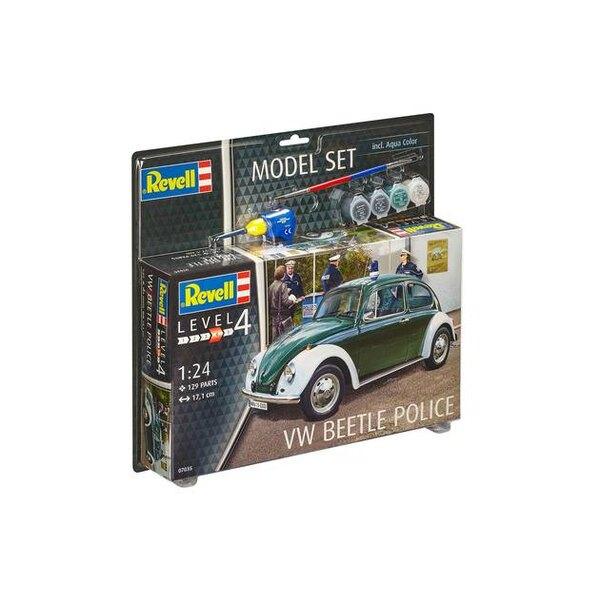 Model Set VW Beetle Police