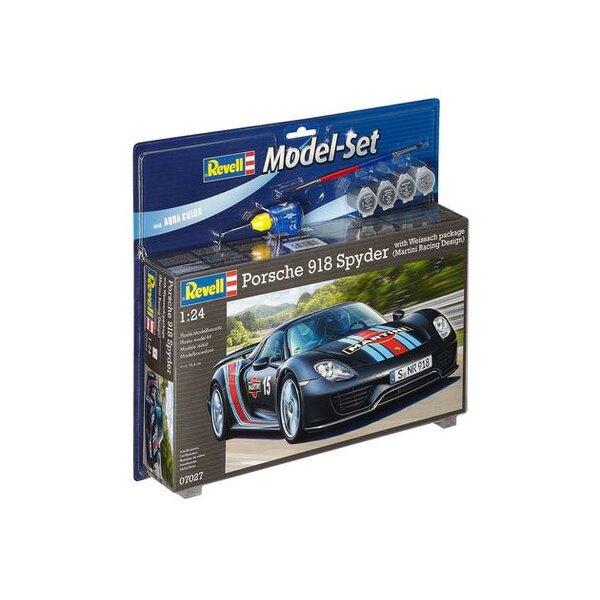 """Model Set Porsche 918 """"Weissach"""