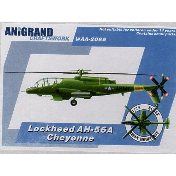 Lockheed AH-56A hélicoptère d'attaque Cheyenne pour remplacer AH-1. En 1965 avec la participation grandissante au Viêt Nam l'Arm