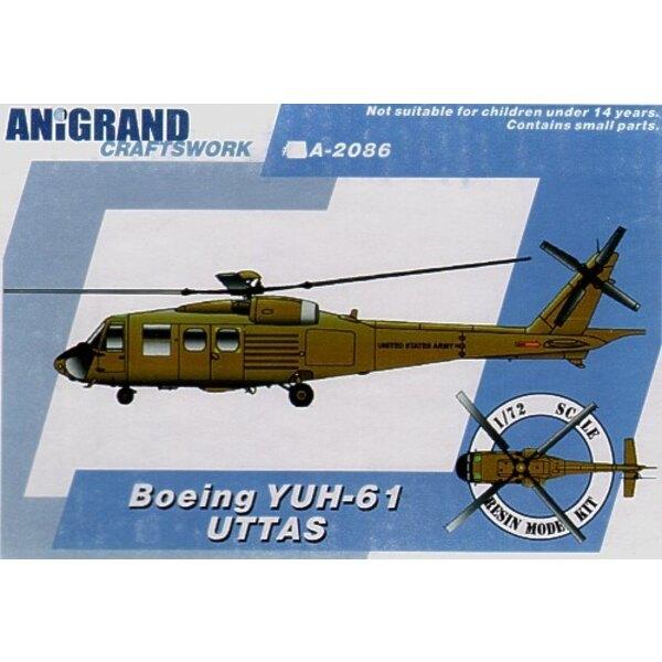 Boeing YUH-61. En 1965 l'US Army a lancé l'Utilité le Système d'Avion de Transport Tactique (UTTAS) le programme. La spécificati