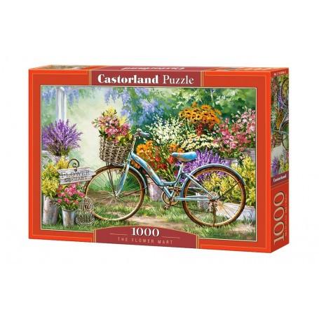 Puzzle Le marché aux fleurs Castorland C-103898-2